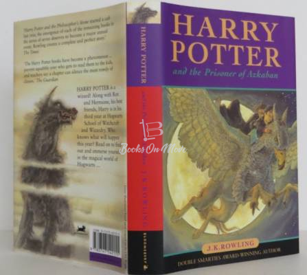 Harry Potter and the Prizonier of Azkaban first edition